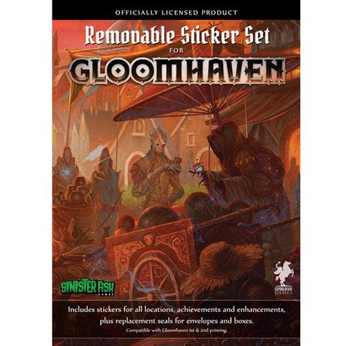 Gloomhaven: Removable Sticker Set - Licensed Accessory