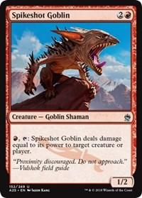 Spikeshot Goblin - Foil