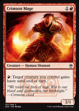 Crimson Mage - Foil