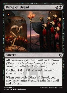 Dirge of Dread - Foil