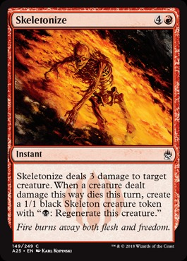 Skeletonize - Foil