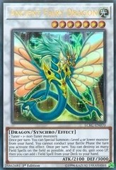 Ancient Fairy Dragon - LCKC-EN070 - Ultra Rare - 1st Edition on Channel Fireball