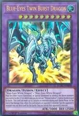Blue-Eyes Twin Burst Dragon - LCKC-EN058 - Ultra Rare - 1st Edition on Channel Fireball