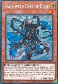 Sage with Eyes of Blue - LCKC-EN015 - Secret Rare - 1st Edition
