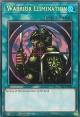 Warrior Elimination - LCKC-EN099 - Ultra Rare - 1st Edition