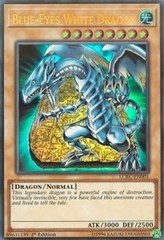 Blue-Eyes White Dragon (STONE) - LCKC-EN001 - Ultra Rare - 1st Edition
