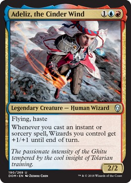 Adeliz, the Cinder Wind - Foil