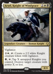 Aryel, Knight of Windgrace - Foil