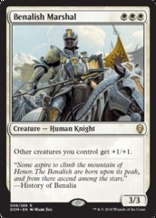 Benalish Marshal - Foil