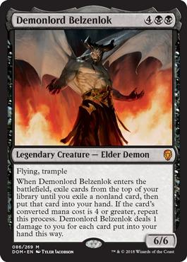 Demonlord Belzenlok - Foil