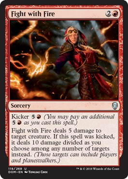 Fight with Fire - Foil