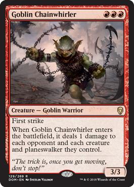 Goblin Chainwhirler - Foil