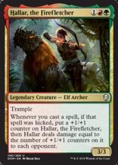 Hallar, the Firefletcher - Foil