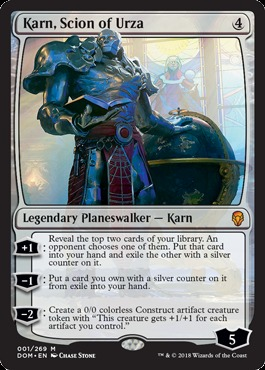 Karn, Scion of Urza - Foil