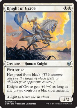 Knight of Grace - Foil