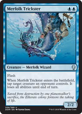 Merfolk Trickster - Foil