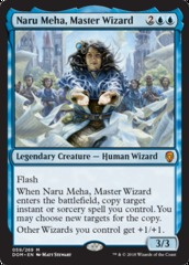 Naru Meha, Master Wizard - Foil