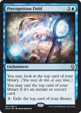 Precognition Field - Foil