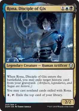 Rona, Disciple of Gix - Foil