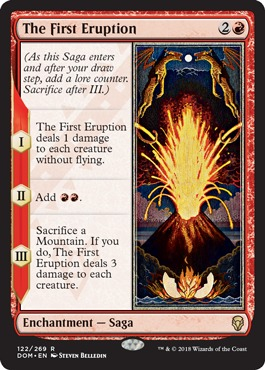 The First Eruption - Foil