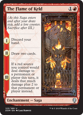 The Flame of Keld - Foil