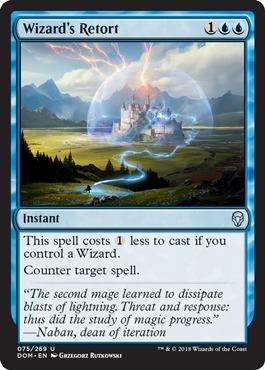 Wizards Retort - Foil
