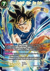 Ultra Instinct -Sign- Son Goku (SPR) - BT3-033 - SPR - BT3-033 - SPR