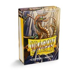 Dragon Shield Sleeves: Japanese Matte Copper (Box Of 60)