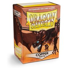 Dragon Shield Standard Card Sleeves 100ct - Matte Copper
