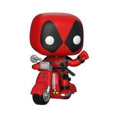 Pop! Rides: Marvel Comics - Deadpool On Scooter