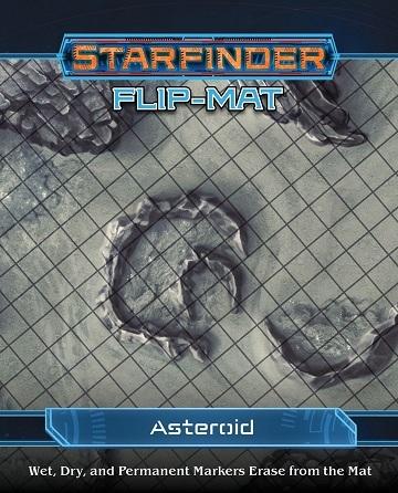 Starfinder Flip-Mat Starship Asteroid - RPGs » Starfinder