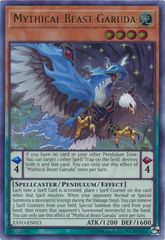Mythical Beast Garuda - EXFO-EN023 - Ultra Rare - Unlimited Edition