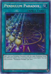 Pendulum Paradox - EXFO-EN061 - Secret Rare - Unlimited Edition