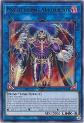 Masterking Archfiend - EXFO-EN090 - Rare - Unlimited Edition