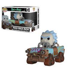 Pop! Rides 37: Rick And Morty - Mad Max Rick