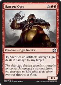 Barrage Ogre