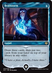 MTG 1x BRAINSTORM 5th Edition *Top Draw NM*