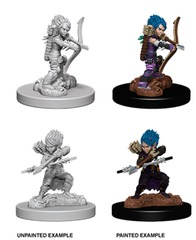Pathfinder Deep Cuts Unpainted Miniatures: W6 Female Gnome Rogue