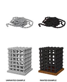 Wizkids Unpainted Minis Cage & Chains