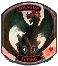 Ultra Pro - Relic Tokens: Eternal Collection - Dragon (Flying) - Foil