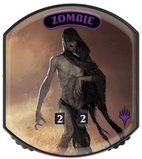 Ultra Pro - Relic Tokens: Eternal Collection - Zombie - Foil