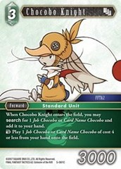 Chocobo Knight - 5-061C - C - Foil