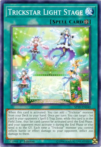 Trickstar Light Stage - SP18-EN040 - Common - 1st Edition