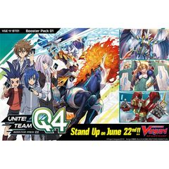 Cardfight!! Vanguard: V Booster  - Unite! Team Q4 - Booster Box