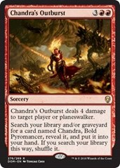 Chandra's Outburst - Planeswalker Deck Exclusive