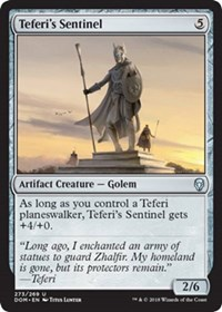 Teferis Sentinel - Planeswalker Deck Exclusive