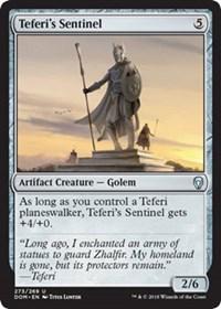 Teferi's Sentinel - Planeswalker Deck Exclusive