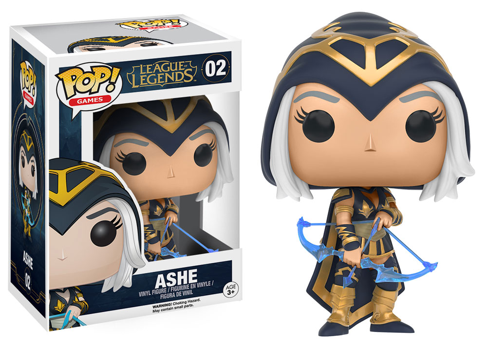 POP! Games: League of Legends - Ashe