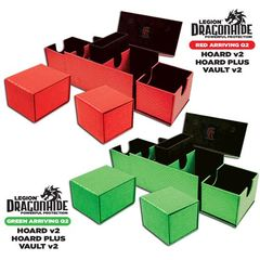 Legion Dragon Hide: Vault V2 Vinyl Box - Green