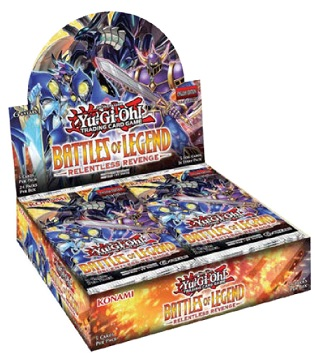 Battles Of Legend: Relentless Revenge Booster Box